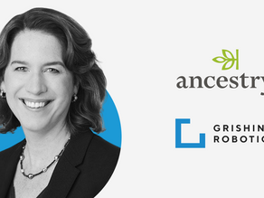 Introducing our new Senior Advisor Margo Georgiadis, President and CEO of Ancestry