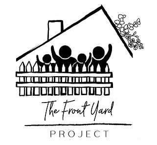 The front yard project
