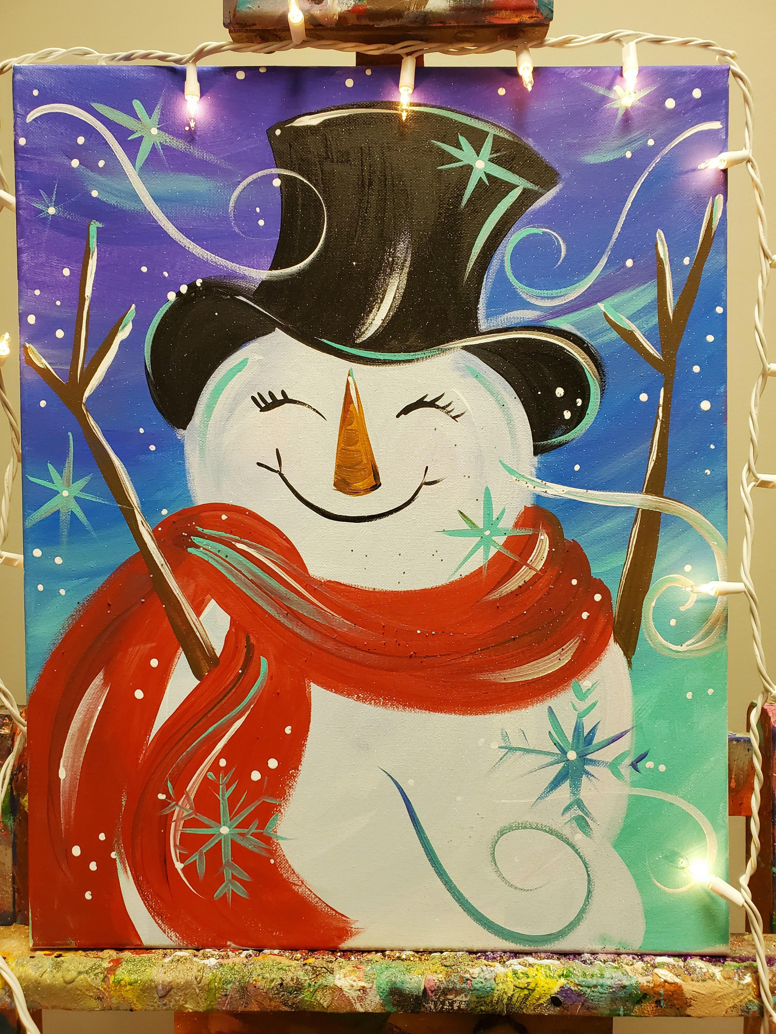 SNOW MAN PARTY!- THURSDAY NIGHT AUG.13th