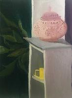 Anna Barden Yellow Cup artwork still life