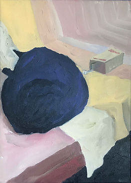 Anna Barden Moon Cat and an Echo artwork