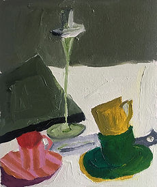 Anna Barden Yellow Cup artwork