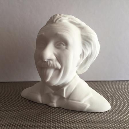 Einstein head