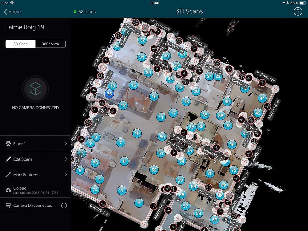 Matterport app