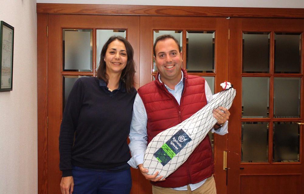 entrega premios aequus golf