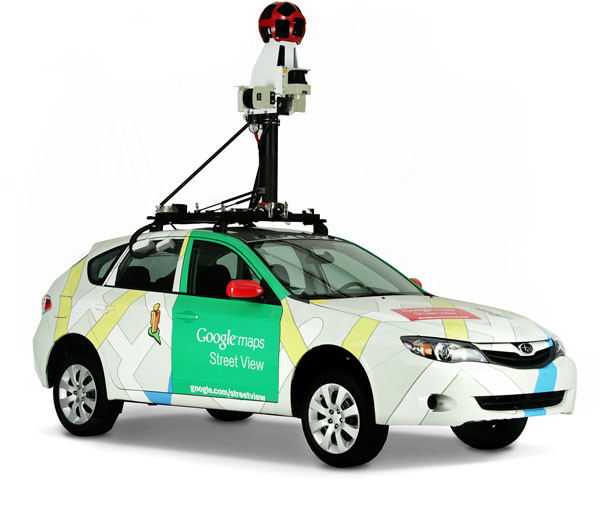 Equipo de Visita Virtual de Google Street View