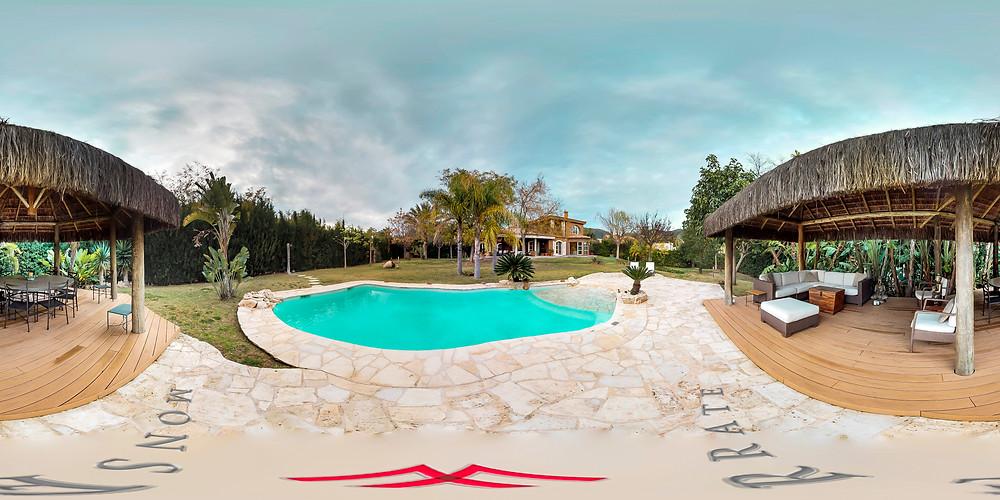 Foto 360 piscina Matterport