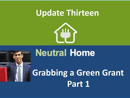 Grabbing a Green Grant
