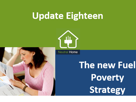 The New Fuel Poverty Strategy- 300,000 set to 'disappear' from figures with new definition