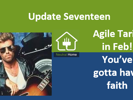 Joining the Agile Tariff in February – You've gotta to have faith