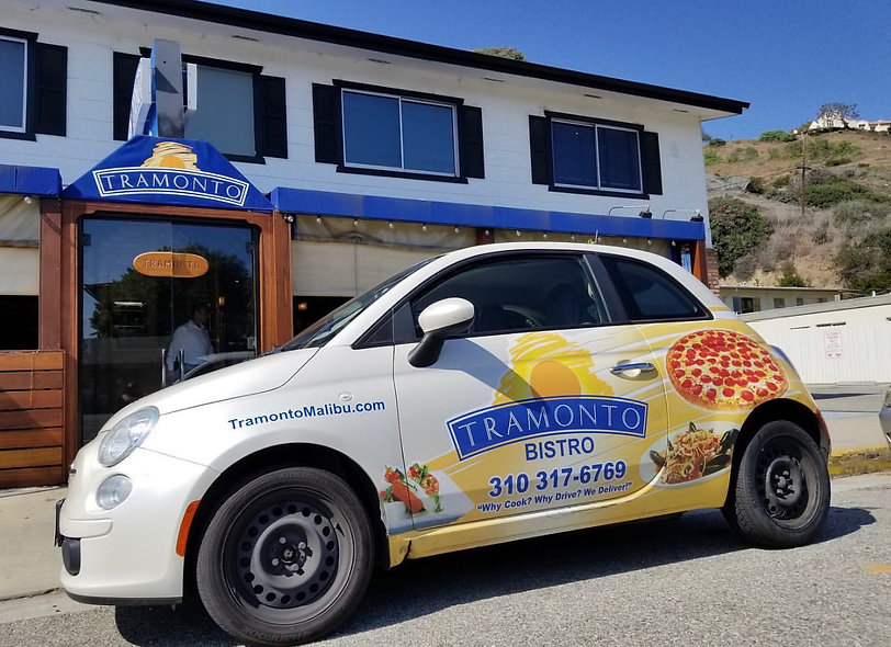 Tramonto Bistro Delivery Car