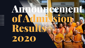 Welcome to IBSC FamilyAnnouncement of Admission Results