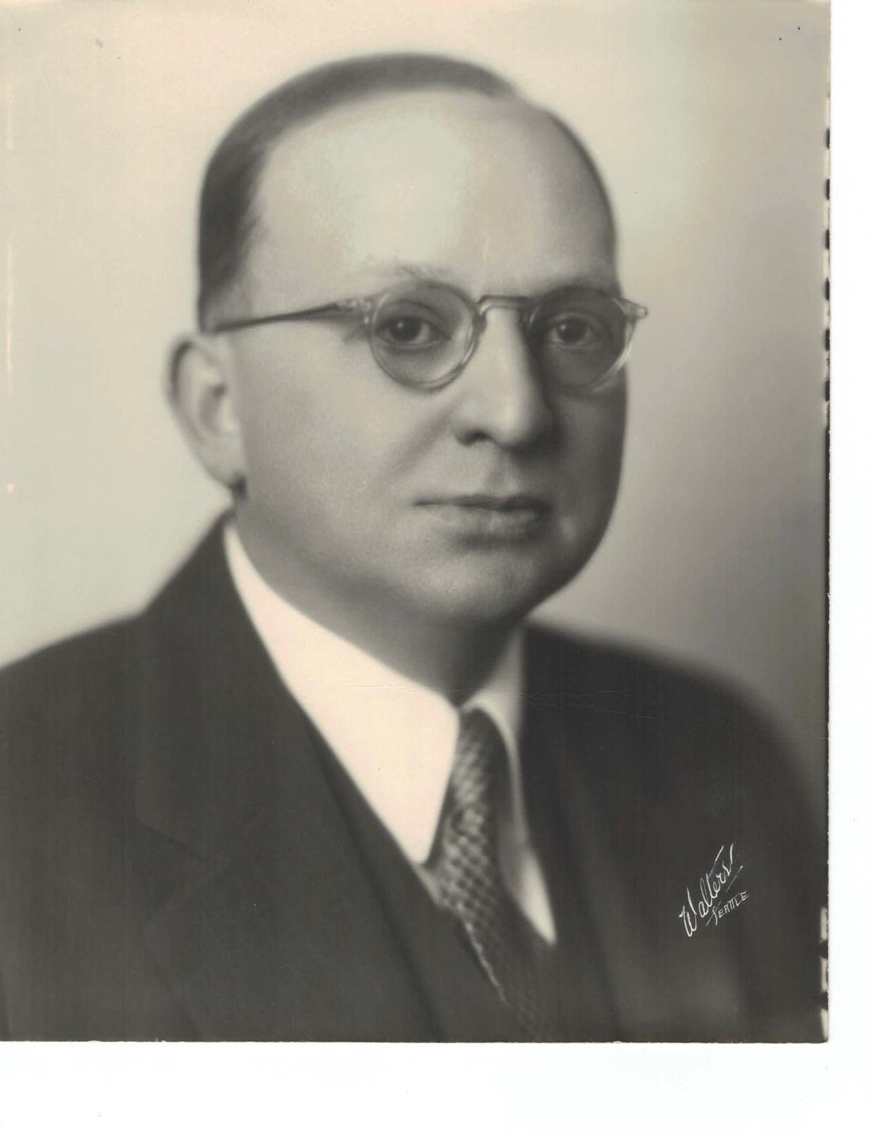 GEORGE E. MAIN 1936-37