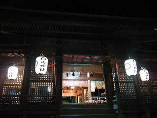 平成30年度秋季例大祭前夜祭