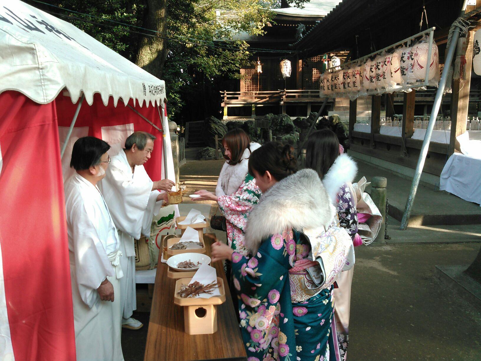 平成28年初詣(直会)