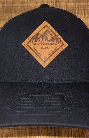 Live Wide Open- Fitted Patch Hat