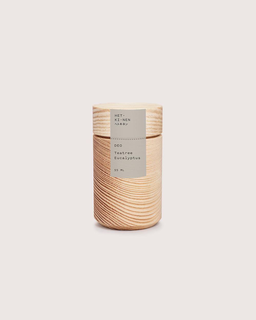 Koti Lifestyle | Hetkinen Deo in a pine jar