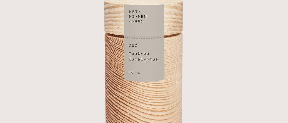 Hetkinen Teatree & Eucalyptus Deo Scent