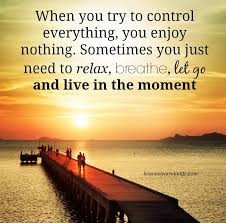 Only this moment! Be full in!