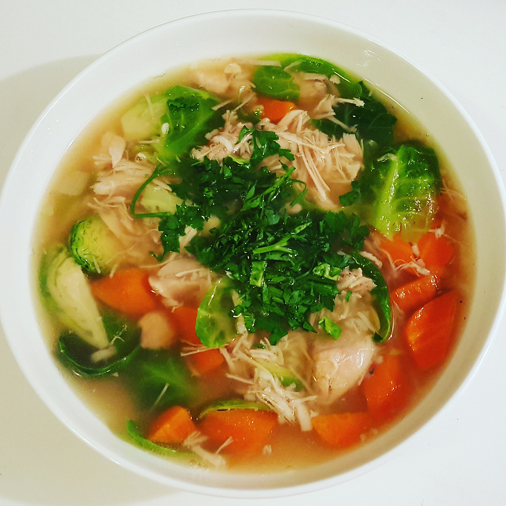 Hanna Watson Healthy Chicken Soup