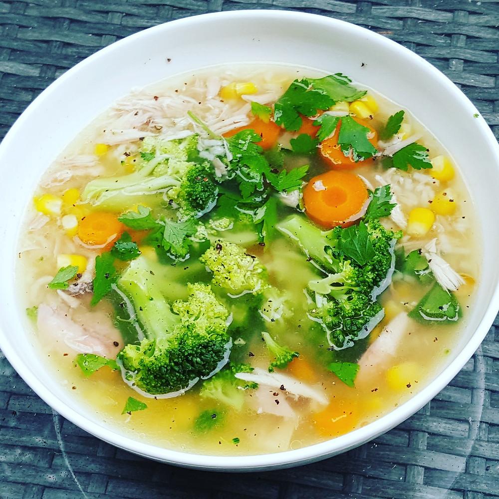 Hanna Watson Healthy Chicken Soup