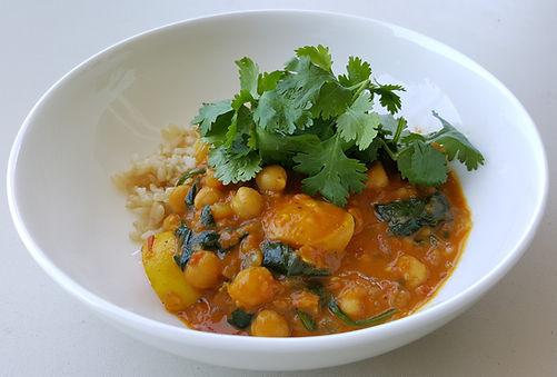 Vegan Curry - Hanna Watson Clinical Nutrition Sydney
