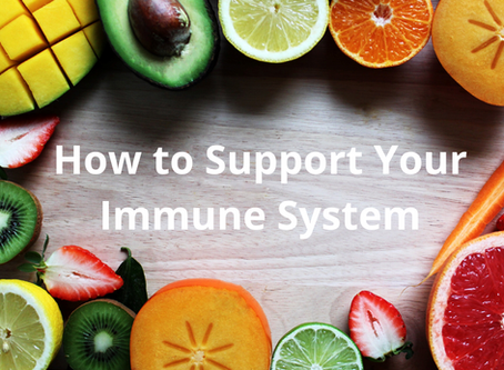 Diet & Lifestyle Tips To Support Your Immune System