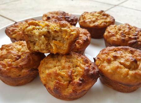 Spelt, Oat & Carrot Muffin