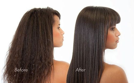 Afro Hair Relaxing Treatment Straight Black Salon Maidstone