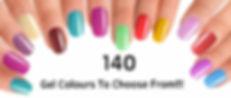CND Shellac Nails Manicure Pedicure Salon 2 week Gel polish Nail Bar Maidstone