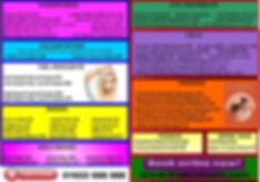 Hair, Beauty & Nails Price List True Colourz Hair Beauty Nails Maidstone
