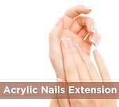 Acrylic Nail extensions nail bar salon maidstone