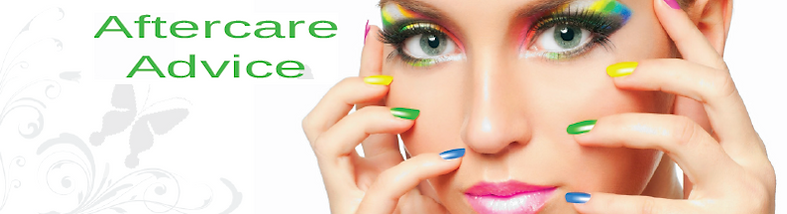 Aftercare True Colourz Hair Beauty Nails Maidstone
