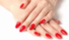 False fake acrylic nail extensions nail bar salon Maidstone