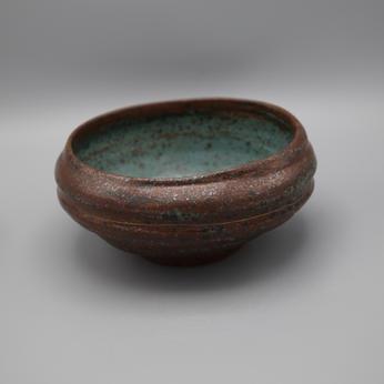 Alkaline Bowl, Blue, Medium