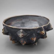 Mace Bowl, Small, soda-fired stoneware