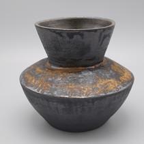 Vessel, soda-fired stoneware
