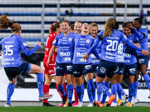 Felicia Rogic förlänger med Eskilstuna United
