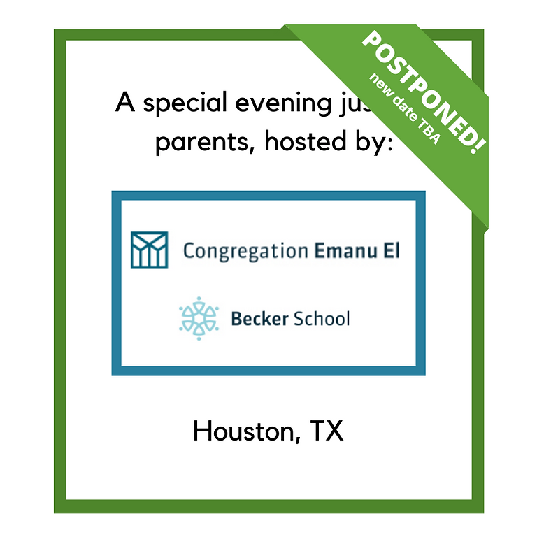An evening for Houston parents!