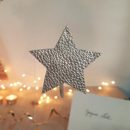 Tuto : les décorations de Noël en cuir