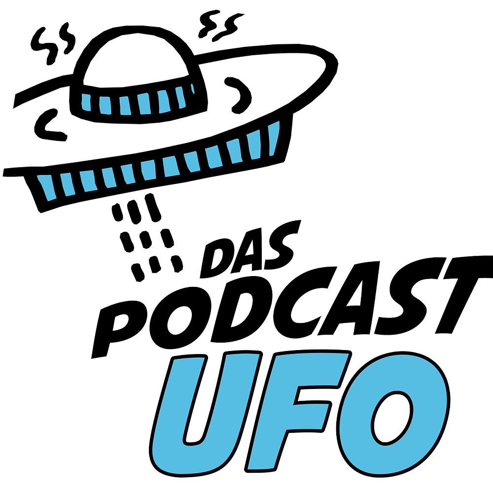 Das Podcast Ufo Logo