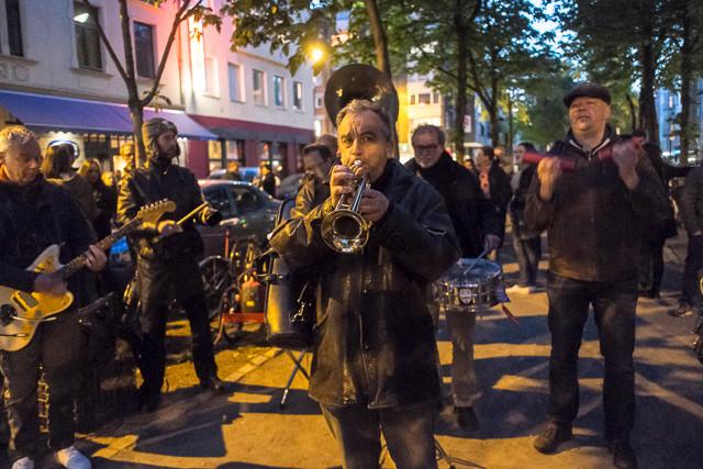 Musik auf der Alteburger Straße