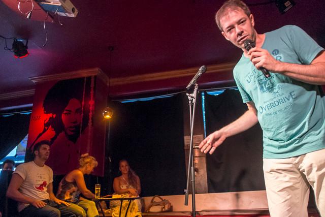 Manuel Wolff und Simon Stäblein im Boing Comedy Club
