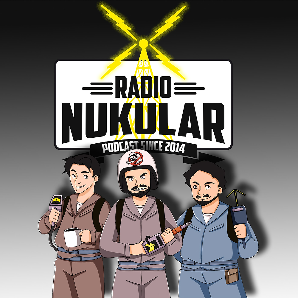 Radio Nukular Podcast Logo