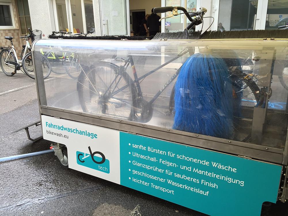 Fahrradwaschanlage Stadtrad