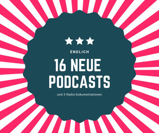 16 neue Podcasts zum Entdecken