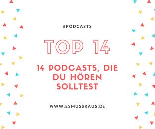 14 neue Podcasts, die Du Dir anhören solltest