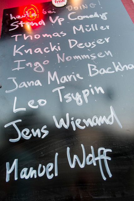 Jens Wienand, Manuel Wolff, Thomas Müller, Knacki Deuser, Ingo Nommsen