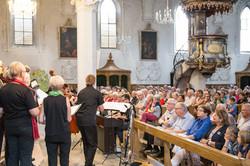 WeltCHOR Baden, mit Musikanten