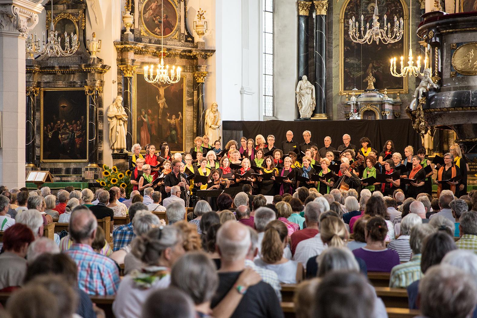 WeltCHOR Baden - Stadtkirche Baden